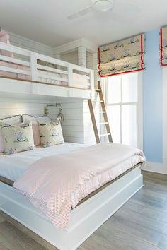 Bunk Beds Adjust, People Do Not. – Bunk Beds for Kids Beach House Bedroom, Home Bedroom, Kids Bedroom, Bedroom Decor, Bedroom Interiors, Trendy Bedroom, Bedroom Ideas, Bunk Bed Rooms, Kids Bunk Beds