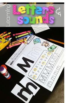 Learning Letters & Sounds in Kindergarten. $