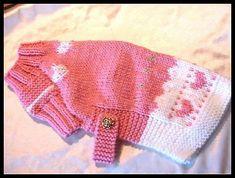 Ravelry: Pink Lady Dog Sweater Pattern pattern by Maureen Hemphill