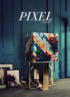 PIXEL Cabinet by Boca Do Lobo - Luxury Exclusive Design Furniture Manufactures, Signature  http://bocadolobo.com
