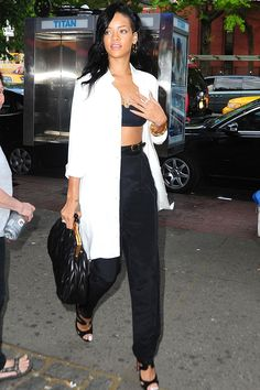 Out in New York. See all of Rihanna's best looks.