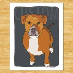 custom pet portraits by pop doggie