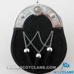 Arbuthnot Clan Crest Dress Sporran