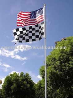 25FT Aluminium telescopic flag pole