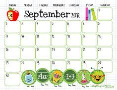 Super-cute Printable Calendars | Macaroni Kid