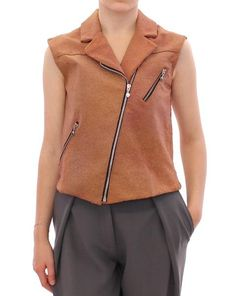La Maison De Couturier Brown Leather Jacket Vest. . https://budiba.com/products/brown-leather-jacket-vest .⠀ .⠀ .⠀ .⠀ .⠀ #fashion #style #ootd #shopping #fashionista #instafashion #shop #jacket #love #instagood #fashionblogger #summer #boutiqueshopping #shoplocal #blogger #shirt #onlineboutique #womensfashion #trendy #vest #instadaily #picoftheday #outfitoftheday #lookbook #boutiquefashion #smallbusiness #ootn #trends #shopsmall #lamaisondecouturier