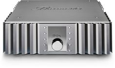 The 082 integrated amplifier is a direct descendant of Burmester's larger 032 integrated amplifier. Home Cinema Systems, Stereo Amplifier, Hifi Audio, Home Cinemas, Machine Design, Loudspeaker, Electronics Projects, Audio Equipment, Audiophile