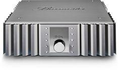 The 082 integrated amplifier is a direct descendant of Burmester's larger 032 integrated amplifier. Home Cinema Systems, Hi End, Bachelor Of Fine Arts, Stereo Amplifier, Hifi Audio, Blue Rooms, Home Cinemas, Machine Design, Loudspeaker