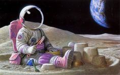 Images and videos of astronaute Astronaut Illustration, Astronaut Wallpaper, Astronaut Party, Apple Watch Wallpaper, Tattoo Photography, Astronauts In Space, Art Graphique, Moon Art, Fantasy Artwork