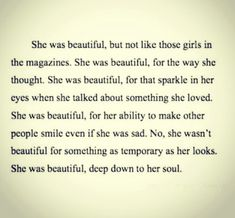 But the girl I know was blessed with beauty too! ;D