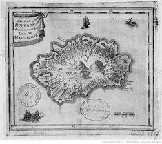 L'Isle de Bourbon anciennement Isle de Mascaregne (XVIIe)