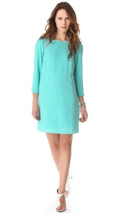 MORE LIKE NEED!!!  Tibi Alison Peek-A-Boo Shift Dress