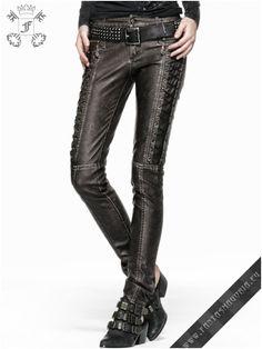 Desperado trousers K-202-punk rave | Fantasmagoria.eu - Gothic Fashion boutique