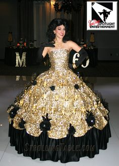 Black & Gold Strolling Champagne Skirt Dress is very popular. Created, owned & operated by San Diego Spotlight Entertainment