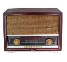 Eski Türk malı radyo
