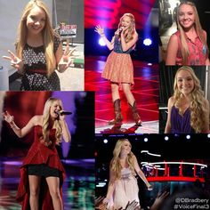 Love Danielle Bradberry winner youngest singer crowed the voice