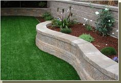Retaining Walls, Garden Walls, Patio Walls and Fences