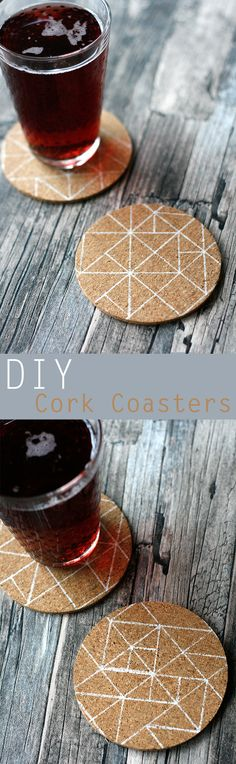 Let me show you how to upgrade your Avskild Cork Coasters in just 5 minutes and for less than 3$! #ikea