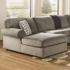 Signature Design by Ashley Jessa Place Sectional : jessa place sectional dimensions - Sectionals, Sofas & Couches