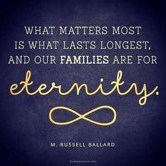 M. Russell Ballard #EternalFamilies