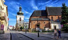 Bell Tower. Krosno. Poland June 2013