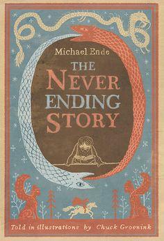 The never ending story de Michael Ende, illustraté par Chuck Groenink