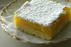 Barras de limón - El Gran Chef