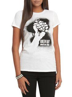 Green Day American Idiot Girls T-Shirt | Hot Topic