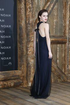 Emma Watson in Wes Gordon at the Berlin Noah premiere.