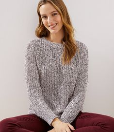 130f286a616f1 Get ready for the season with warm & cozy women's sweaters at LOFT. Whether  you want a cute cardigan or a plush pullover, we have the perfect sweater  for ...