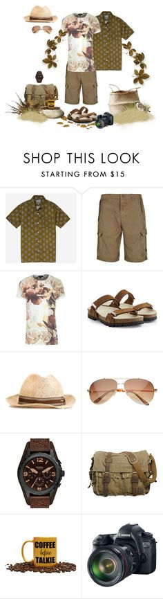 """""""Untitled #1016"""" by donna-france-davis ❤ liked on Polyvore featuring Bonobos, Armani Jeans, River Island, Dsquared2, FOSSIL, Bloomingville, Eos, men's fashion and menswear"""