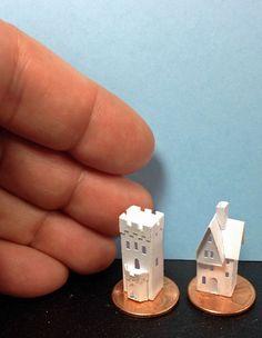"Karin Corbin Miniatures: Micro size ""Old Town"""