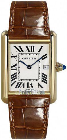 Louis Cartier Tank Watch #beautifulwatchesmen