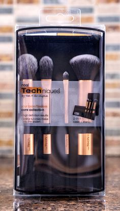 Real Techniques Core Collection Make-up brushes #RealTechniques
