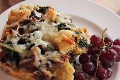 Sausage Kale Strata recipe from Ree Drummond via Food Network