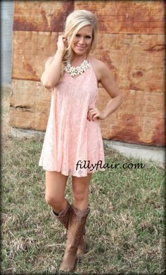 Cowgirls Pink Dress