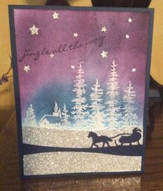 Jingle all the way by n.d.stamper - Cards and Paper Crafts at Splitcoaststampers