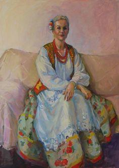 Festivity, oil on canvas,