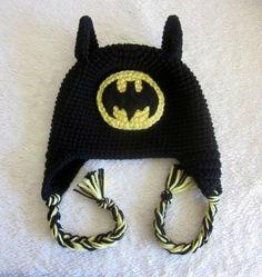 touca croche infantil super herói batman todos os tamanhos