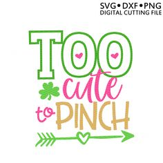 St. Patrick's Day SVG for Silhouette CAMEO or Cricut!