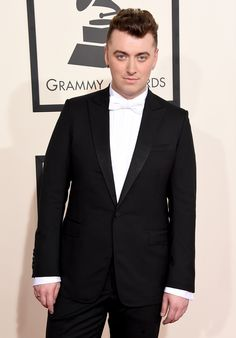 Sam Smith at the 2015 Grammy Awards