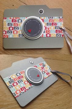 Ronald MC Donald Häuser, Fotoapparat, Karte, Stampin'Up, Kamera, Camera,: