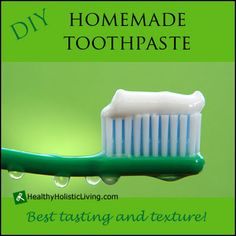 Looking for the best homemade toothpaste? Look no further this recipe is one of the best.