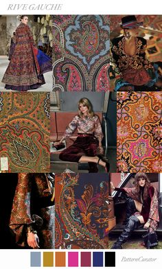 Pattern Curator delivers color, print and pattern trends and inspiration. Fashion Themes, Fashion Colours, Fashion 2020, Fashion Design, Pattern Curator, Quoi Porter, Fashion Vocabulary, Fashion Forecasting, Rive Gauche