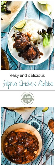 SAVE FOR LATER! This tender Filipino Chicken Adobo is super simple to make yet rich in flavor. It takes as little as 30 minutes to make and is a healthy weeknight meal. You'll have this recipe in quick rotation soon! Best Gluten Free Recipes, Simply Recipes, Healthy Recipes, Healthy Weeknight Meals, Weeknight Dinners, Chicken Adobo, International Recipes, Food For Thought, Food Inspiration