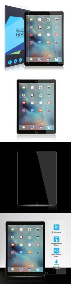 {1-3 Pack} SOINEED® Tempered Glass Screen Protector For Apple iPad Pro 10.5 inch