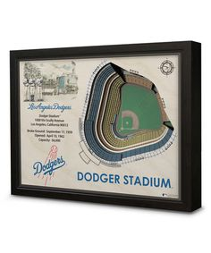 Look what I found on #zulily! Los Angeles Dodgers Dodger Stadium Wall Art #zulilyfinds