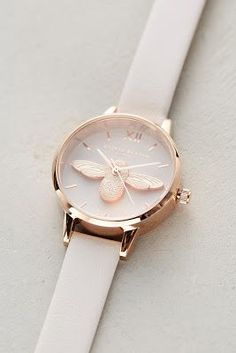 Tove Leather Bee Watch - Watch - Ideas of Watch - Tove Leather Bee Watch Fancy Watches, Trendy Watches, Cute Watches, Luxury Watches, Women's Watches, Bijoux Design, Accesorios Casual, Diy Schmuck, Beautiful Watches