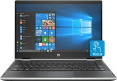 "HP - Pavilion x360 2-in-1 14"" Touch-Screen Laptop - Intel Core i3 - 8GB Memory - 500GB Hard Drive - Natural Silver, Ash Silver Vertical Brushed"