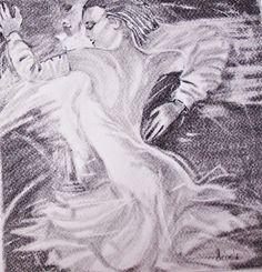 Roman Garassuta inspiráció. Szén. Antelope Canyon, Figurative Art, Abstract, Artwork, Nature, Painting, Travel, Summary, Work Of Art